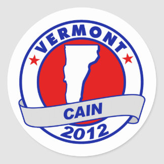 Cain - Vermont Stickers