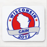 Cain - Wisconsin Mousepads