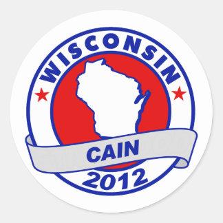Cain - Wisconsin Sticker