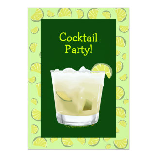 Caipirinha Cocktail Party Invitation Customizable