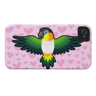 Caique / Lovebird / Pionus / Parrot Love iPhone 4 Case-Mate Case