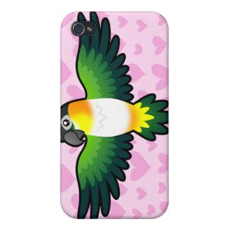 Caique / Lovebird / Pionus / Parrot Love iPhone 4 Cover