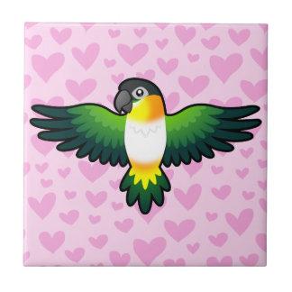 Caique / Lovebird / Pionus / Parrot Love Tile