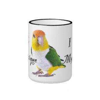 Caique Parrot Mug