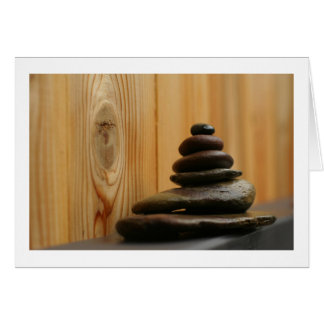 Cairn Meditation Stones and Wood Cards