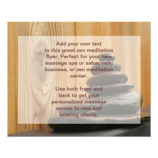 Cairn Meditation Stones 11.5 Cm X 14 Cm Flyer