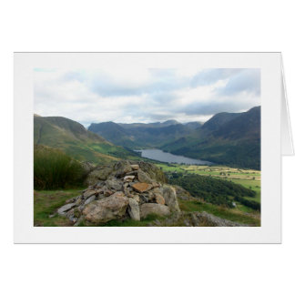 Cairn overlooking Buttermere Card