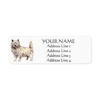 Cairn Terrier Address Labels