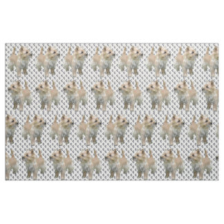 Cairn Terrier dog breed fabric