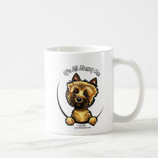 Cairn Terrier Its All About Me Basic White Mug