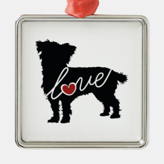 Cairn Terrier Love Christmas Ornament