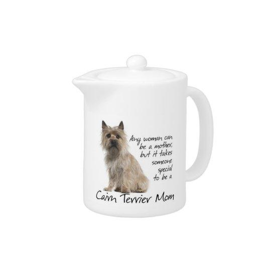 Cairn Terrier Mum Teapot