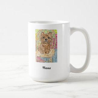 Cairn Terrier Nana Grandma Gran Mug birthday