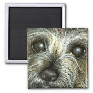 Cairn terrier puppy magnet