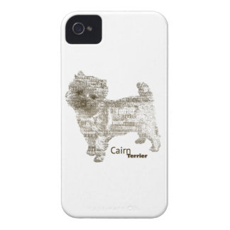 Cairn Terrier --- - TypoDoggies iPhone 4 Case-Mate Cases