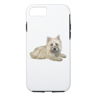 Cairn Terrier (Wheaten) - lying down iPhone 7 Case