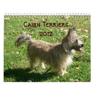 Cairn Terriers 2012 Calendar