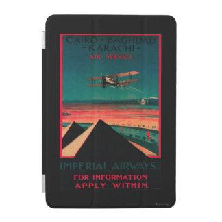 Cairo - Bagdad - Karachi Air Vintage Poster iPad Mini Cover