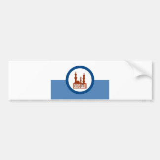 Cairo city flag Egypt symbol Bumper Sticker