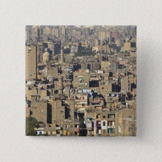 Cairo Cityscape 15 Cm Square Badge