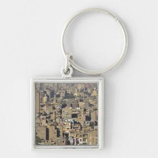 Cairo Cityscape Keychain