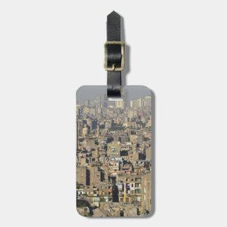Cairo Cityscape Luggage Tag