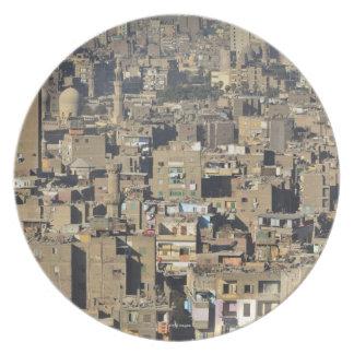 Cairo Cityscape Plate