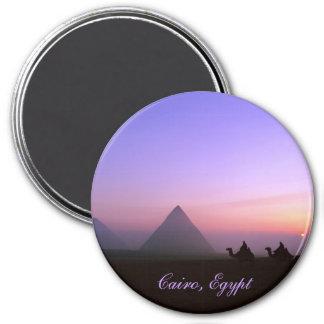 Cairo, Egypt 7.5 Cm Round Magnet