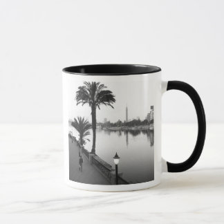 Cairo Egypt, Along the Nile River Mug