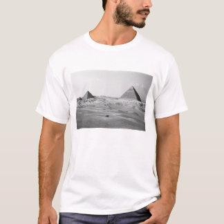 Cairo Egypt, Giza Pyramids T-Shirt