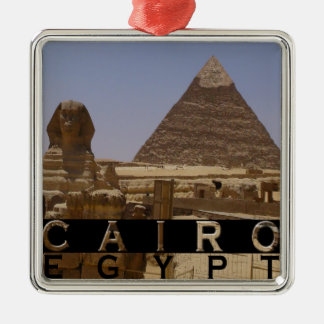 Cairo Egypt Souvenir Christmas Ornament