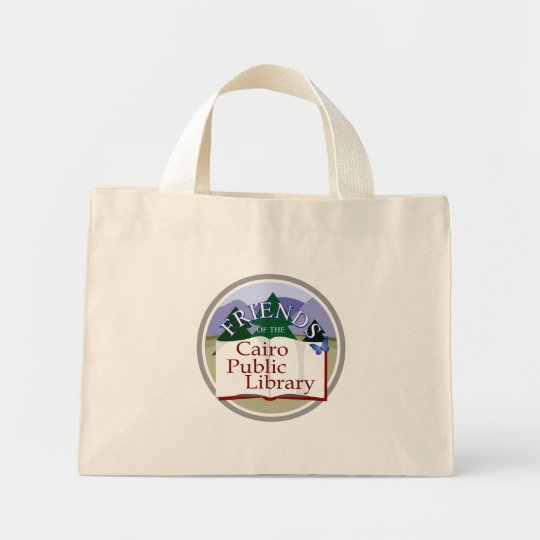 Cairo Friends Logo Mini Tote Bag