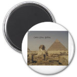Cairo, Giza, The Sphinx (St.K.) Refrigerator Magnet