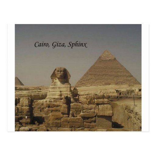 Cairo, Giza, The Sphinx (St.K.) Post Card
