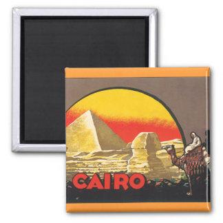 Cairo Square Magnet