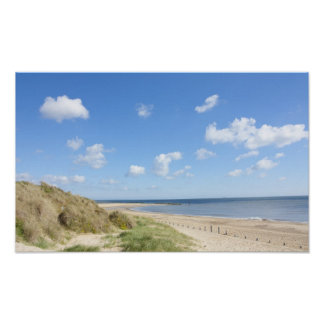 Caister on sea beach and sand dunes posters