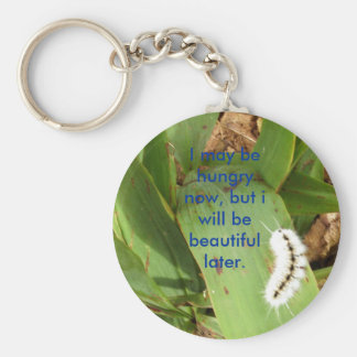 caitlin's pics 353, I may be hungry now, but i ... Basic Round Button Key Ring