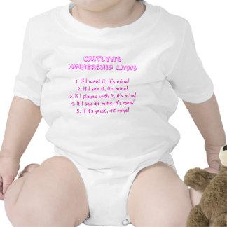 Caitlyn s Ownership Laws Tshirt