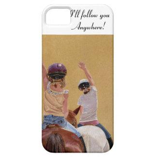 Caja de la casamata del iPhone de la equitación iPhone 5 Case