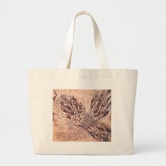 Cajal's Neurons 1 Large Tote Bag