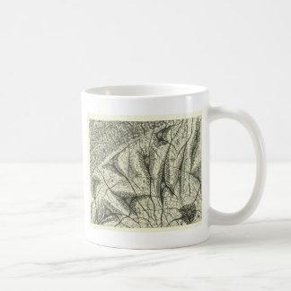 Cajal's Neurons 4 Basic White Mug