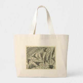 Cajal's Neurons 4 Large Tote Bag