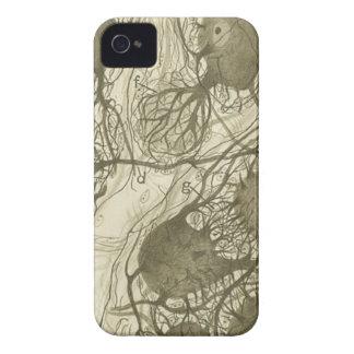 Cajal's neurons 6 iPhone 4 Case-Mate cases