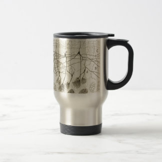 Cajal's Neurons 8 Travel Mug