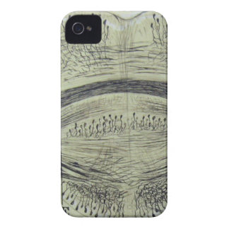 Cajal's spinal neurons - 5 Case-Mate iPhone 4 case