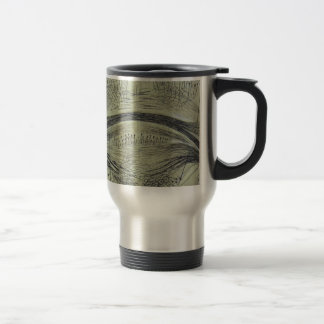 Cajal's spinal neurons - 5 travel mug