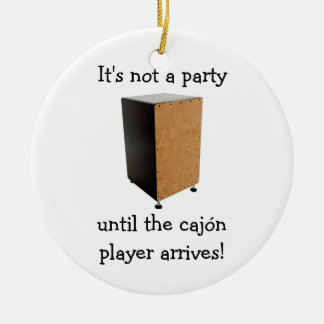 CAJON Christmas ornament