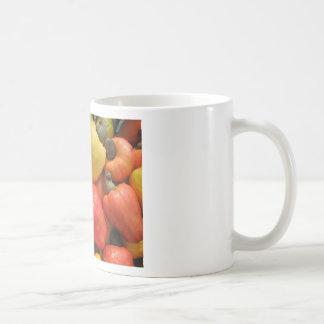 Caju, mãe natureza basic white mug