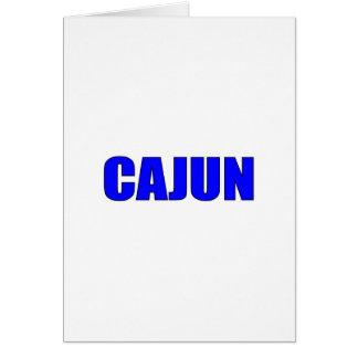 Cajun Greeting Card