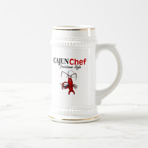 Cajun Chef Beer Steins